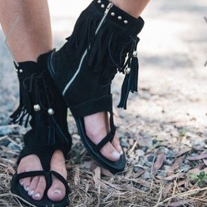 Spell & the Gypsy Warrior Sandals size 41 ~RARE~